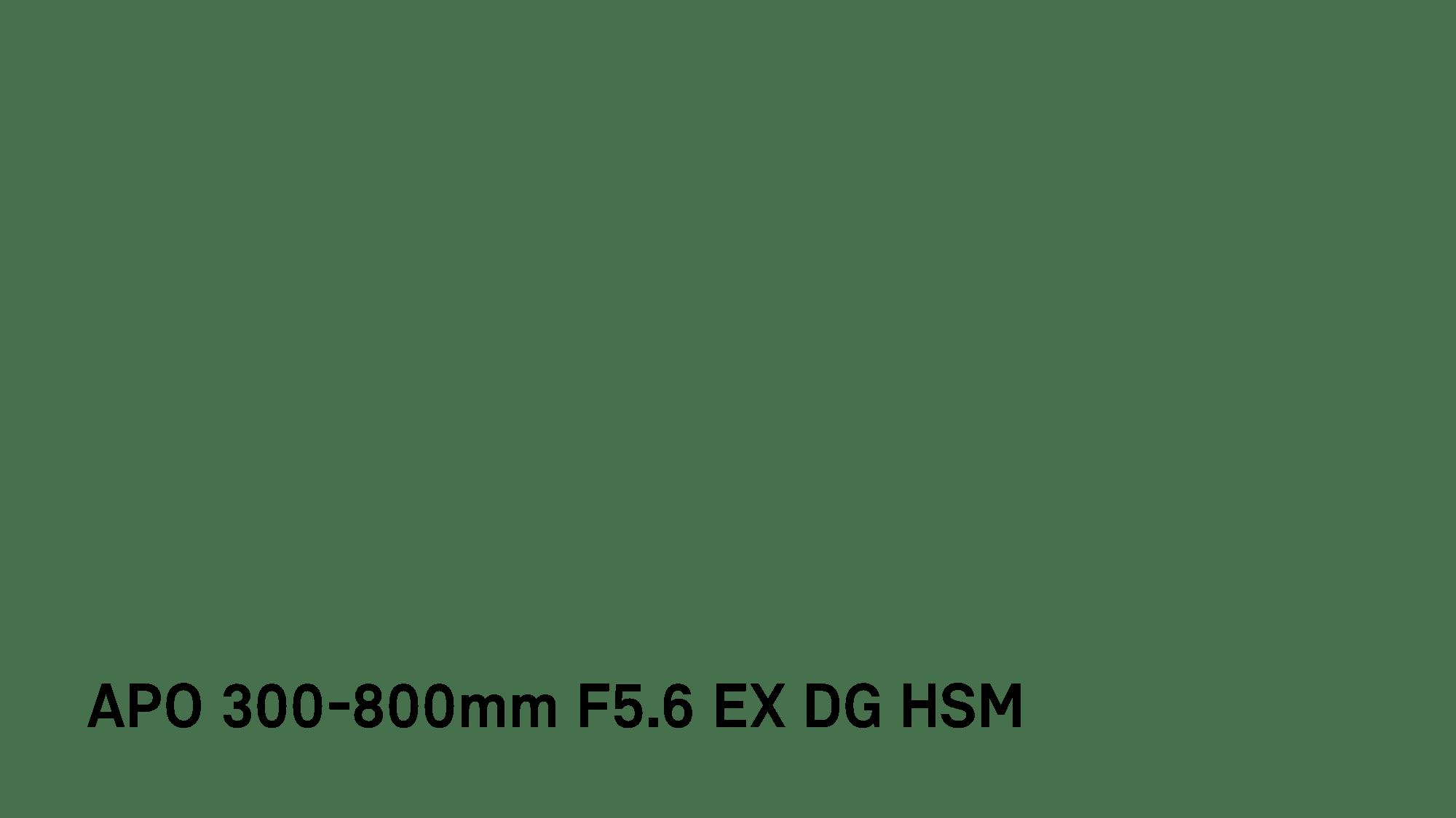 Apo 300 800mm F5 6 Ex Dg Hsm View Discontinued Lenses Lenses Sigma Corporation